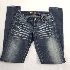 Angels Jean's skinny stretch jeans. Low rise.